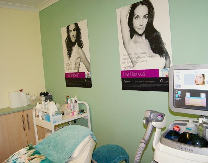 Cwmbran Laser & Skin Clinic Treatment Room